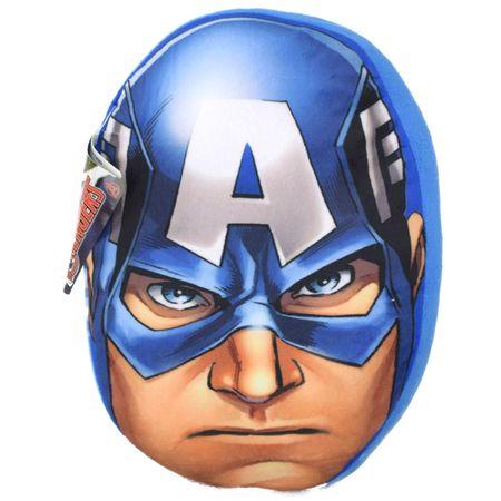 Captain America Kissen Kuschelkissen Dekokissen Plüschkissen Sofakissen 35cm