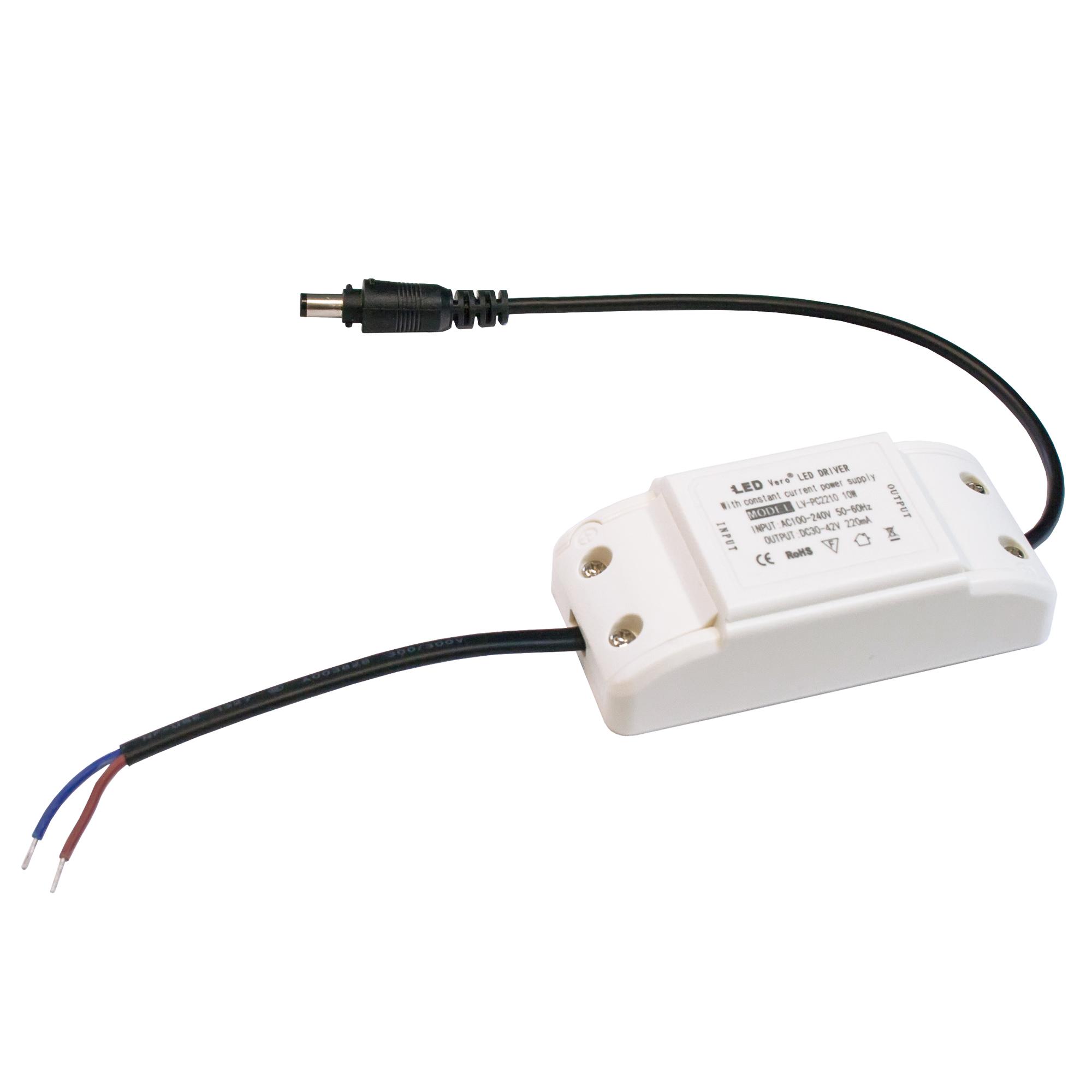 10W LED Transformator für 30x30 Ultraslim LED Panel Trafo Treiber Driver Controller für Einbaustrahler Einbauleuchte Deckenleuchte
