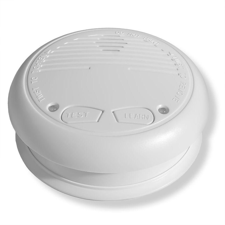 1x Nemaxx WL10 Funkrauchmelder - mit 10 Jahre Lithium Batterie Rauchmelder Feuermelder Set Funk koppelbar vernetzt - nach DIN EN 14604 + 1x NX1 Quickfix Befestigungspad – Bild 1