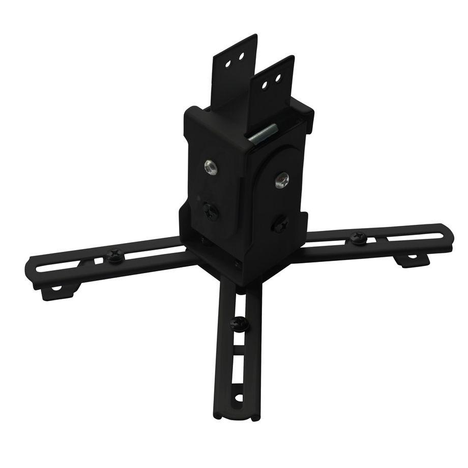 Nemaxx PH03 Schwarz Deckenhalterung Beamer Projektor Universal flexibel neigbar kippbar schwenkbar verlängerbar stabil – Bild 1