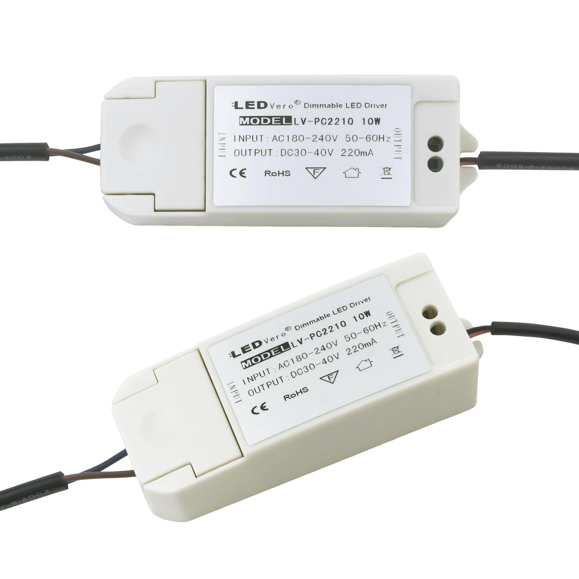 10W LED Transformator dimmbar für 30x30 Ultraslim LED Panel EMV2016 Trafo Treiber Driver Controller für Einbaustrahler Einbauleuchte Deckenleuchte