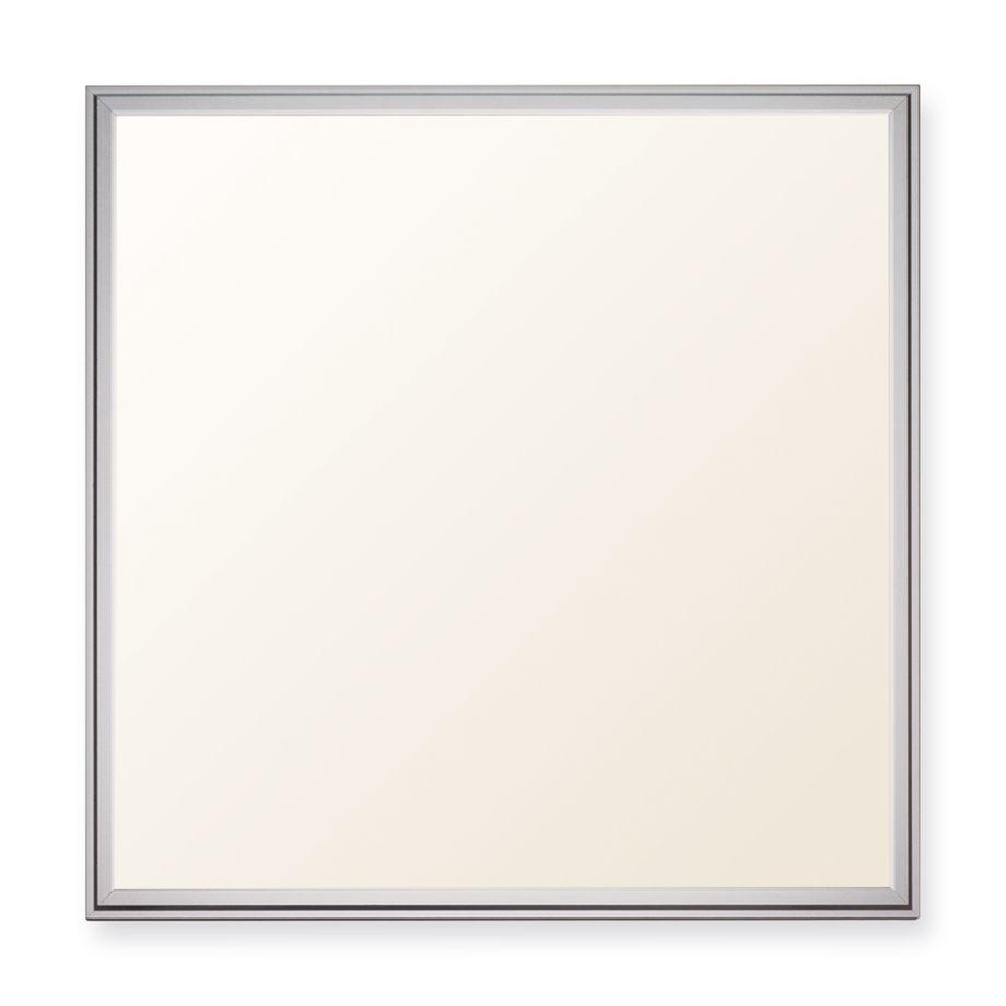 LEDVero 1er Set 62x62cm Ultraslim LED Panel dimmbar  36W, 3000lm, 3000K Deckenleuchte mit Befestigungsclips und EMV2016 Trafo -Warmweiß- Energieklasse A – Bild 1