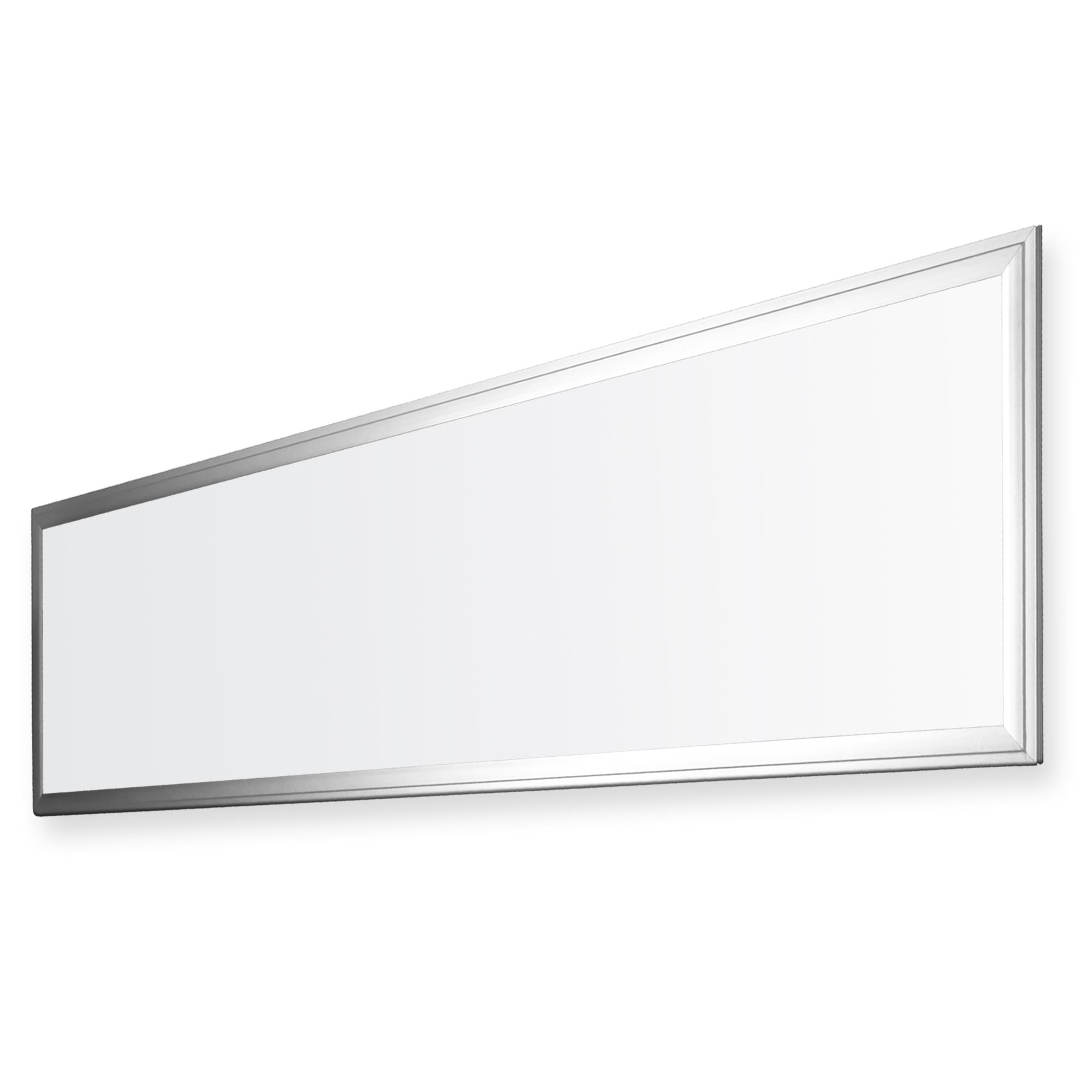 ledvero 1er set 120x30cm ultraslim led panel dimmbar 36w 3000lm 4500k deckenleuchte mit. Black Bedroom Furniture Sets. Home Design Ideas