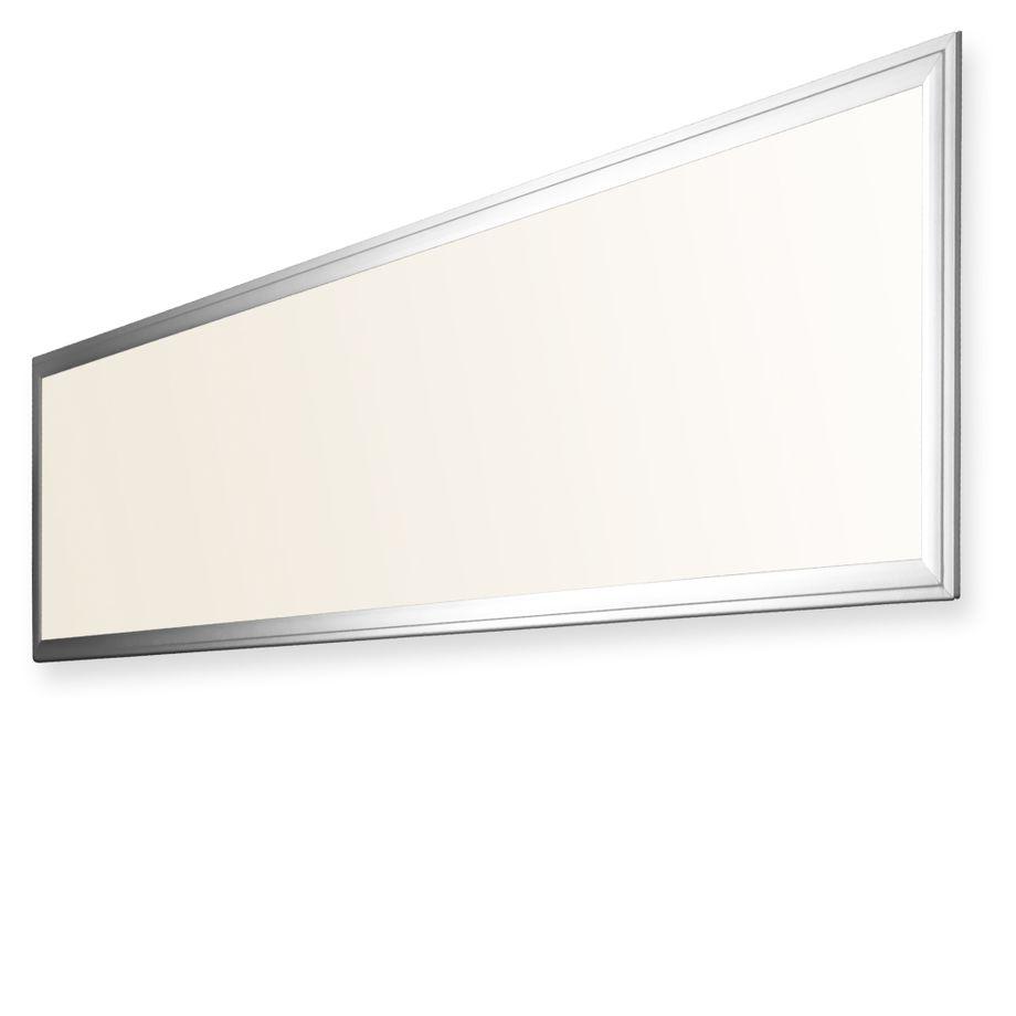 LEDVero 2er Set 120x30cm Ultraslim LED Panel dimmbar  36W, 3000lm, 3000K Deckenleuchte mit Befestigungsclips und EMV2016 Trafo -Warmweiß- Energieklasse A – Bild 1