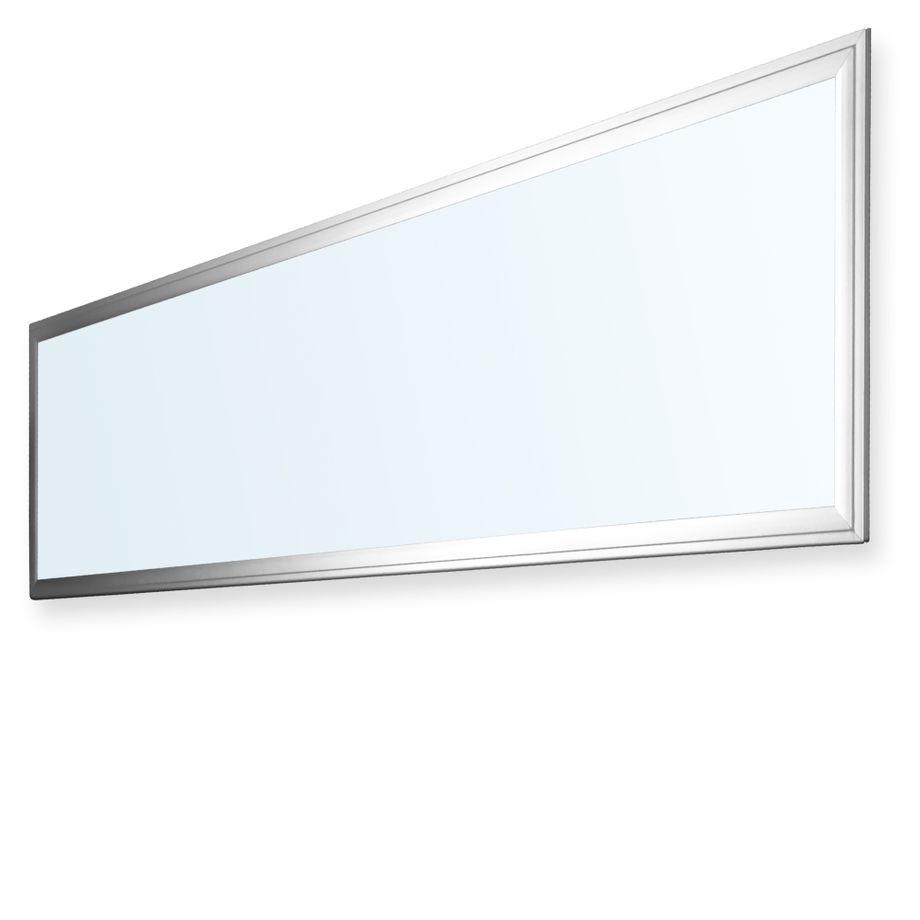 LEDVero 10er Set 120x30cm Ultraslim LED Panel dimmbar  36W, 3000lm, 6000K Deckenleuchte mit Befestigungsclips und EMV2016 Trafo -Kaltweiß- Energieklasse A – Bild 1