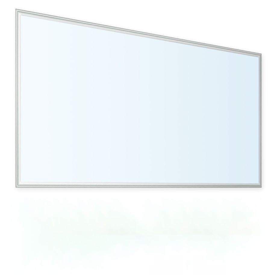 LEDVero 1er Set 120x60cm Ultraslim LED Panel 60W, 5700lm, 6000K Deckenleuchte mit Befestigungsclips und EMV2016 Trafo -Kaltweiß- Energieklasse A+ – Bild 1