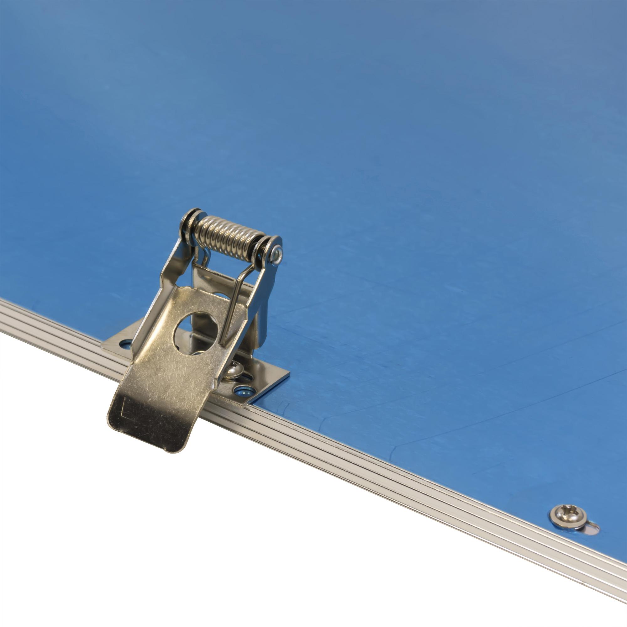 LEDVero 1er Set 120x60cm Ultraslim LED Panel 60W, 5700lm, 4500K Deckenleuchte mit Befestigungsclips und EMV2016 Trafo -Neutralweiß- Energieklasse A+