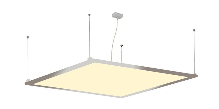1x LEDVero 120x30 ENEC High Lumen 45W Ultraslim LED Panel 3500lm Deckenleuchte mit Befestigungsclips und EMV Trafo - Warmweiß - Energieklasse A