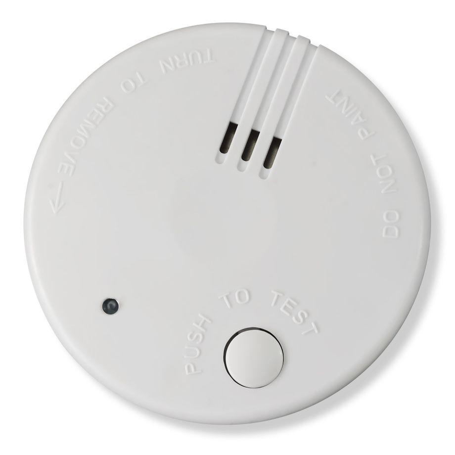1x Nemaxx Mini-FL2 Rauchmelder - hochwertiger & diskreter Mini Brandmelder Feuermelder Rauchwarnmelder mit Lithium Batterie - nach DIN EN 14604 + 1x Nemaxx  Magnetbefestigung – Bild 1