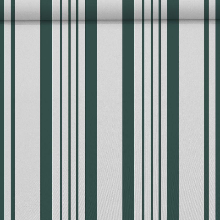 Nemaxx FCA35X Vollkassettenmarkise mit Licht- und Windsensor  3,5m x 2,5m grün-weiß: Kassettenmarkise für optimale Beschattung aus UV-beständigem und wetterfestem Acryltuch in grauer Kassette - nach DIN EN 13565 – Bild 1
