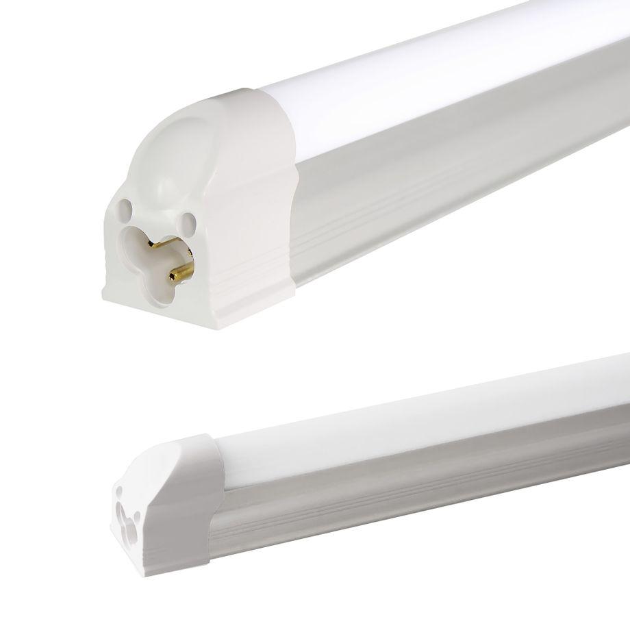 LEDVero T5 LED Lichtleiste 60cm, Abdeckung: milchig - kaltweiß - Röhre / Tube Leuchtstoffröhre – Bild 1