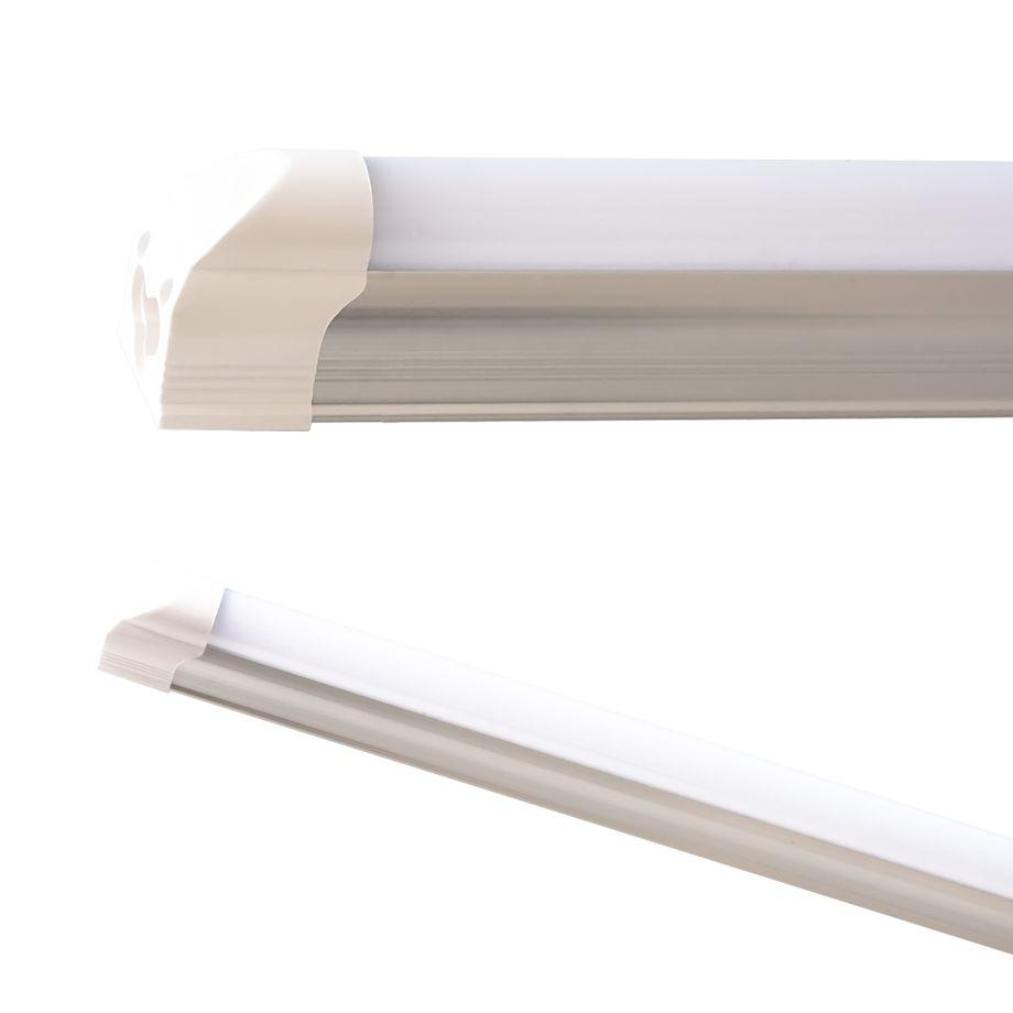LEDVero T5 LED Lichtleiste 60cm, Abdeckung: milchig - warmweiß - Röhre / Tube Leuchtstoffröhre – Bild 1