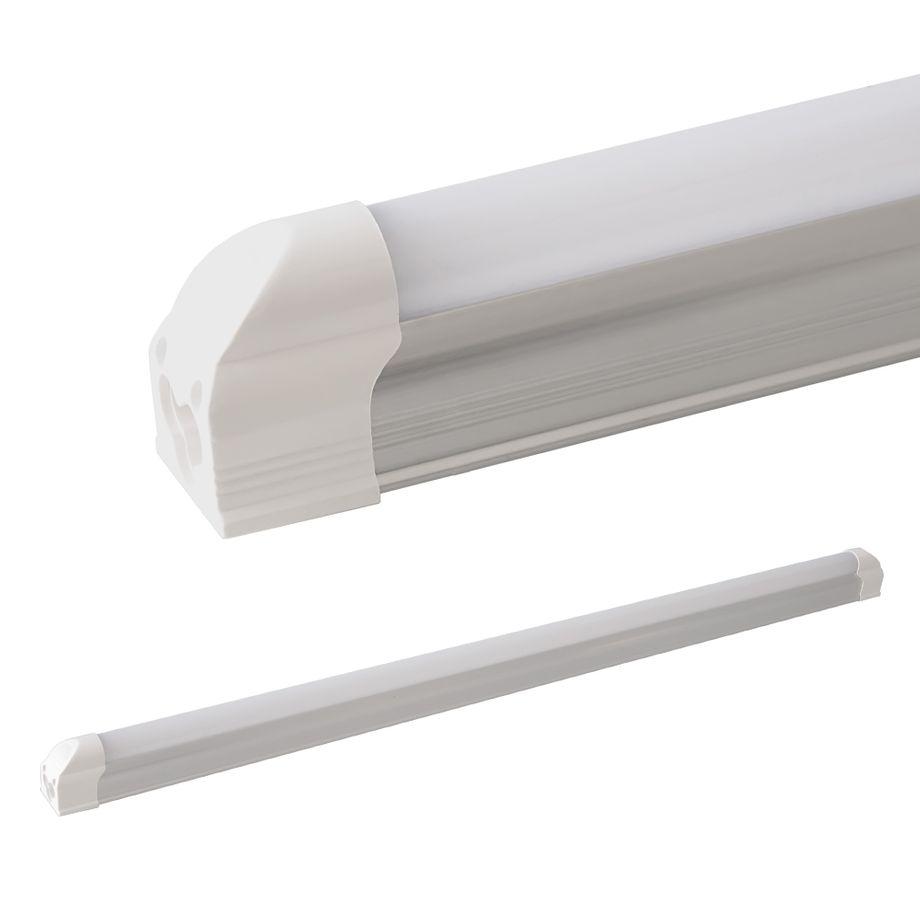 LEDVero T5 LED Lichtleiste 90cm, Abdeckung: milchig - neutralweiß - Röhre / Tube Leuchtstoffröhre – Bild 1