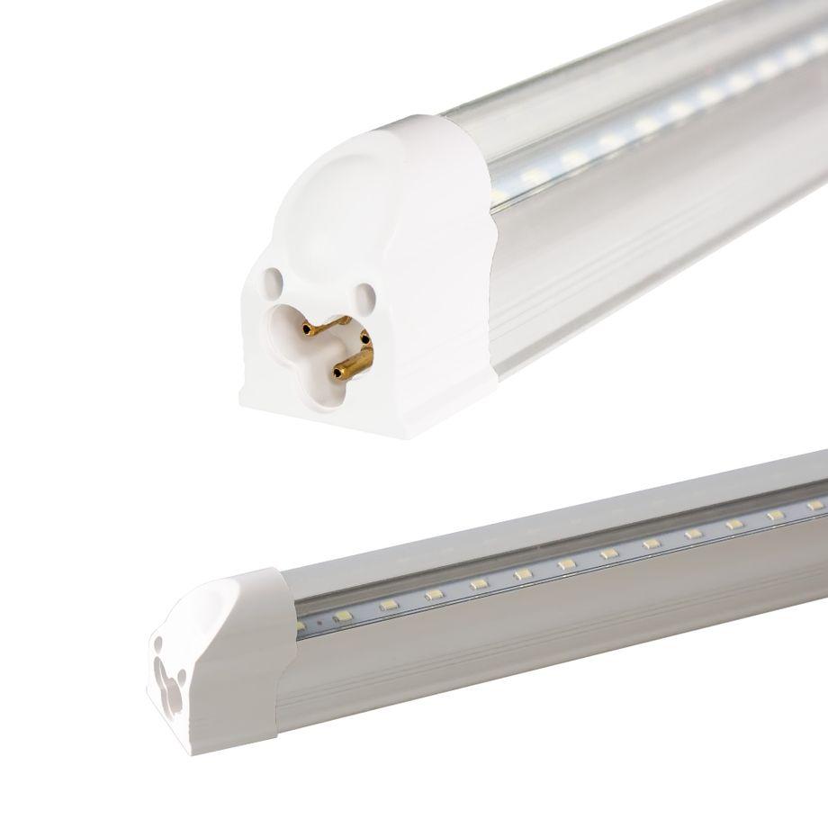 LEDVero T5 LED Lichtleiste 60cm, Abdeckung: transparent - warmweiß - Röhre / Tube Leuchtstoffröhre – Bild 1