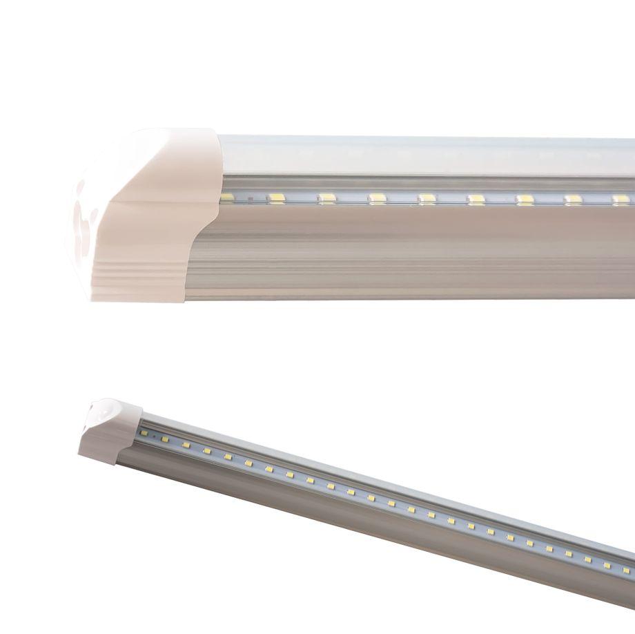 LEDVero T5 LED Lichtleiste 90cm, Abdeckung: transparent - neutralweiß - Röhre / Tube Leuchtstoffröhre – Bild 1