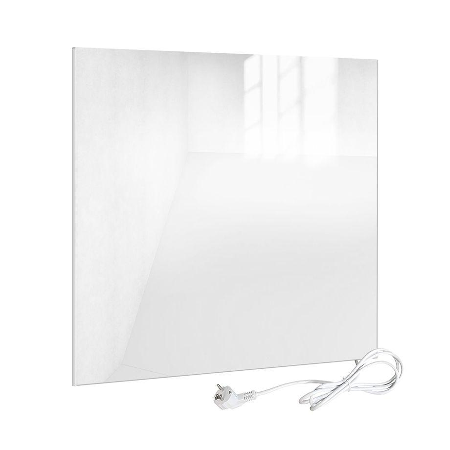 Viesta H320-GW Infrarotheizung Glas 320 Watt, weiß - Heizpaneel mit höchstem Wirkungsgrad dank Carbon Crystal Technologie - flache Glasheizung aus Sicherheitsglas - Elektroheizung mit Überhitzungsschutz – Bild 1