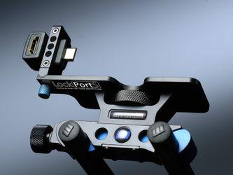 LockPort 5 Steckerschutz Set für 5D, Buchse (vorne) – Bild 2
