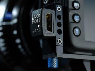 LockPort 7 Steckerschutz Set für 7D, Buchse (hinten) – Bild 5