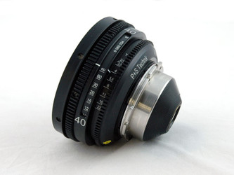 PS-Rehousing for Schneider (35) Cine-Xenon 40mm f2.0, PL, meter