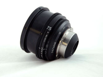 PS-Rehousing for Schneider (35) Cine-Xenon 75mm f2.0, PL, meter – Image 1