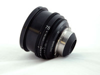 PS-Rehousing for Schneider (35) Xenon 75mm f 2.0, PL, meter