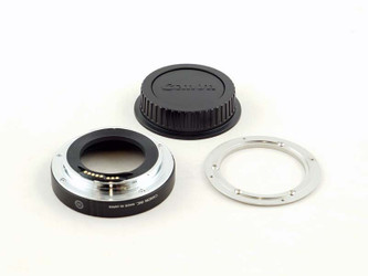 Nikon F to Canon EF lens mount conversion for 35 Digital lenses