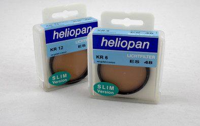 Heliopan Light Filter-Set KR 6 + KR 12, slim version 48mm