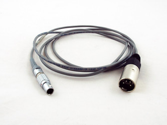 SI-2K Mini Power Cable, 2m, Lemo 8p male to XLR 4p male