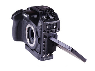 Birdcage GH4 Swivel Kit incl. Twin Baseplate and Top Grip Handle