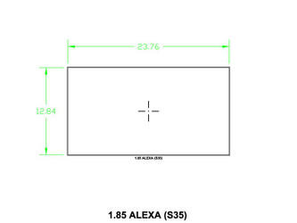 Ground Glass UDF 1,85 Alexa (S35)