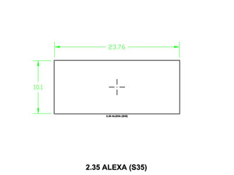 Ground Glass UDF 2,35 Alexa (S35)