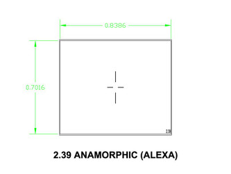 Ground Glass UDF 2,39 Anamorphic (Alexa)