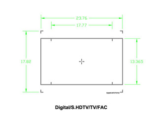 Ground Glass UDF Digital SHDTV TV FAC – Image 1