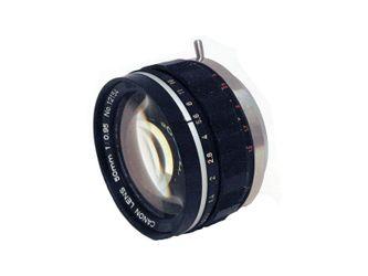 Canon 50mm f0.95,