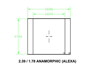 Ground Glass UDF 2,39 1,78 Anamorphic (Alexa) – Image 1