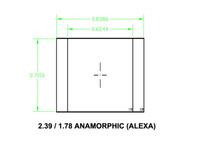 Ground Glass UDF 2,39 / 1,78 Anamorphic (Alexa)