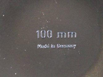 Objektiv Schutzdeckel, Ø 100mm – Bild 2