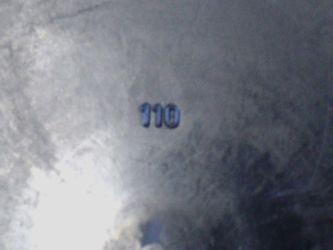 Lens front cap, Ø 110mm – Image 2