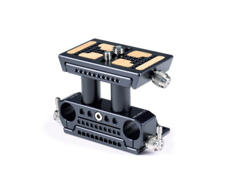 BasePlate MicroMega Kit 45 / Base Plate / Top Slider / Top Plate / Rod Mount 15mm / MicroMega Riser 45 (x2)