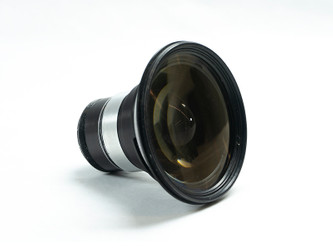 Cooke Speed Panchro 18mm f2.0, SIII, used Vintage glass block – Image 1