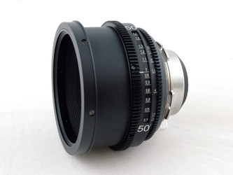PS-Rehousing for Kinoptik 50mm  f2.0, PL