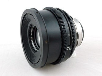 PS-Rehousing for Kinoptik 75mm f2.0, PL