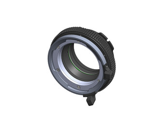 IMS 2.0 Accessory with scale to read-out lens back focus adjustment for IMS interface