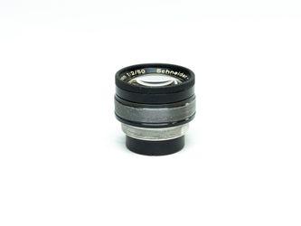 Schneider Xenon 50mm f 2.0, gebrauchter Vintage Linsenstock – Bild 3