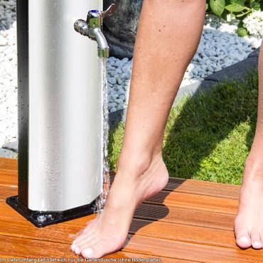 Solardusche mit Regendusche und Fußdusche (37 Liter) – Bild 4
