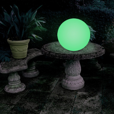 40 cm LED Gartenkugel – Bild 4