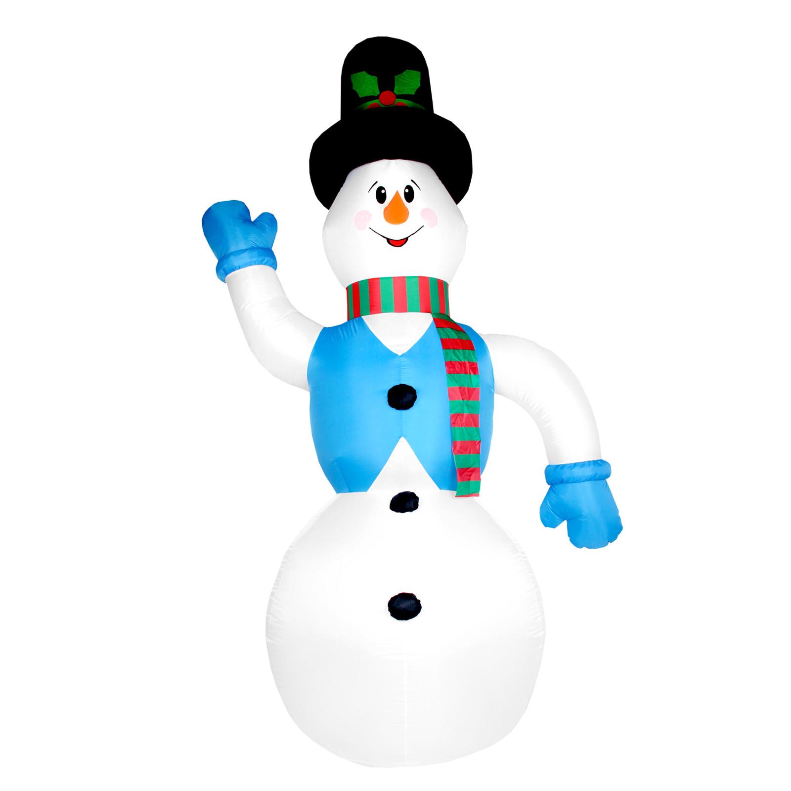 Weihnachtsdeko Aussen Schneemann.Aufblasbarer Schneemann 350 Cm Weihnachtsdekoration Aussen Xxl
