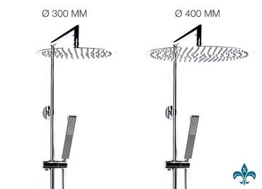 Aufputz Duschsystem mit Rohrverbindung – Bild 9
