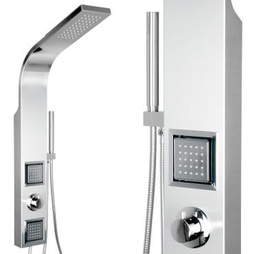 Edelstahl Duschsäule mit vielen Funktionen (ST-1205) – Bild 1