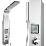Edelstahl Duschsäule mit vielen Funktionen (ST-1205) 001